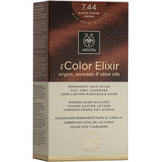 APIVITA - My Color Elixir Argan, Avocado & Olive Oils - 7.44 Intense Blonde Copper