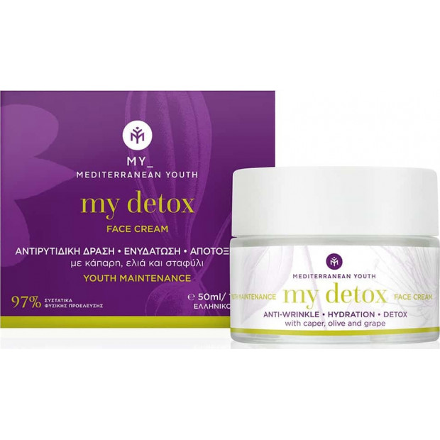 Mediterranean Youth - My Detox Face Cream Youth Maintenance 50ml