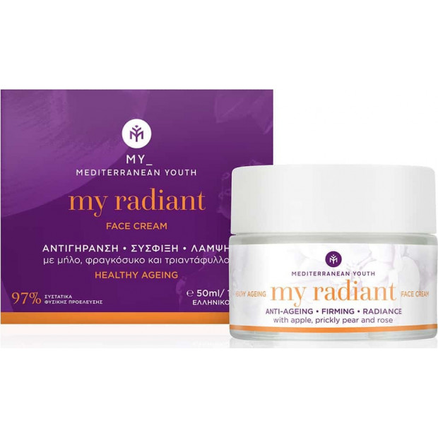 Mediterranean Youth - My Radiant Face Cream Healthy Ageing 50ml