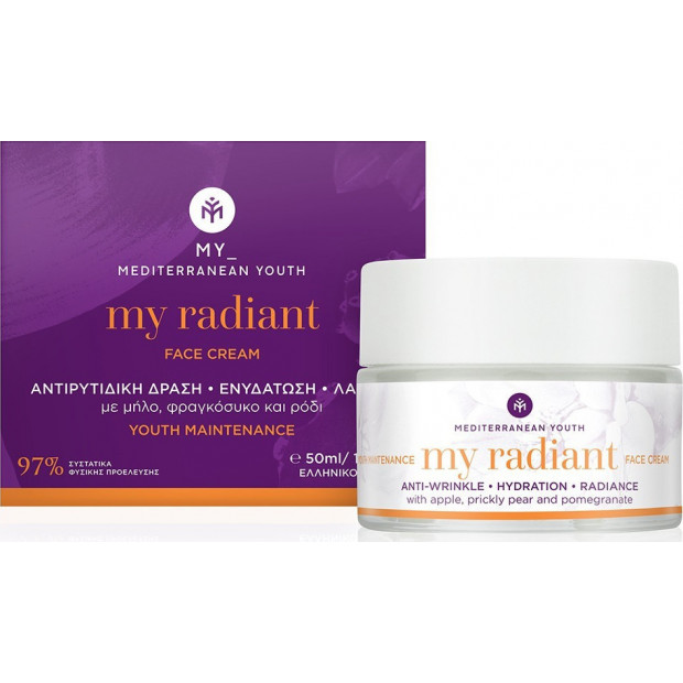 Mediterranean Youth - My Radiant Face Cream Youth Maintenance 50ml
