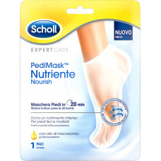 Dr.Scholl -  PediMask Nutriente Nourish Foot Mask with Macadamia oil 2pcs.