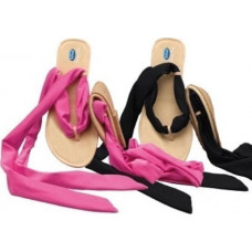 Dr.Scholl - Pocket Sandals Black / Fuchsia 1 pair - Νο 41/42