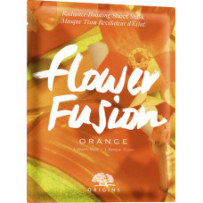 Origins Flower Fusion Radiance Boosting Sheet Mask Orange 1pc