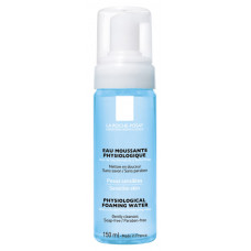 LA ROCHE POSAY - PHYSIOLOGICAL FOAMING WATER Gentle, soap free, paraben free cleanser, Bottle with pump 150ml