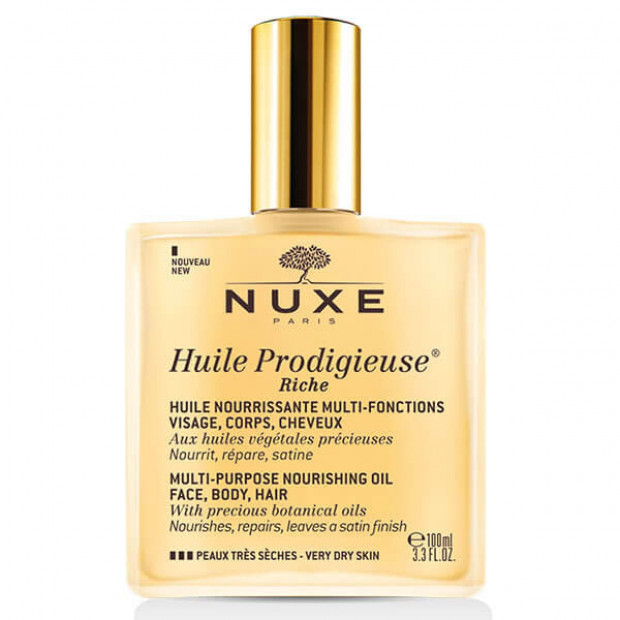 NUXE - Huile Prodigieuse® Rich Multipurpose Nourishing oil 100ml