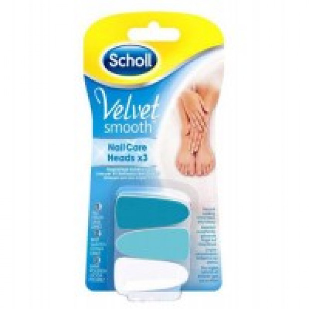 Dr.Scholl - Velvet Smooth Nail Care - spare parts3pic.