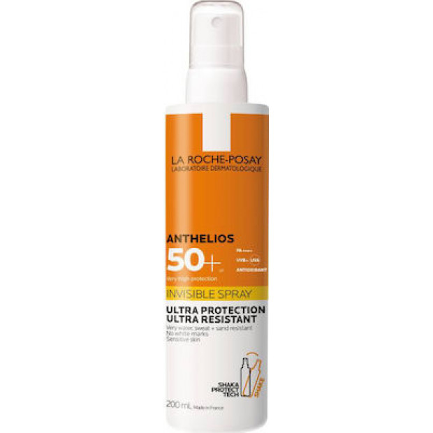 La Roche Posay Anthelios Invisible Spray with Shaka Protect Tech SPF50+ 200ml